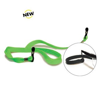 SC-002 Green Lanyard for Safety Glasses
