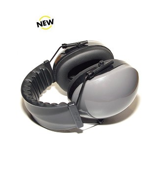 SH-003 Hearing Protection Headset with Gray Hearing Cups