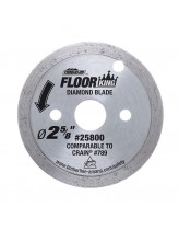 Floor King Continuous Diamond Rim Saw Blade Comparable to Crain 789, Designed for Toe-Kick 795 Saw