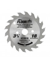 Floor King Carbide Tipped Saw Blade Comparable to Crain 787, Designed for Toe-Kick 785 & 795 Saws