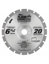 Floor King Carbide Tipped Saw Blade Comparable to Roberts 10-47-2, Designed for Jamb/Undercut Saws 10-46 & 10-55