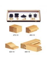 TRS-200 5-Piece Cabinet Door & Molding Router Bit Set