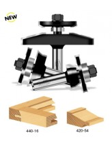 2-Piece Shaker Stile & Rail Router Bit Set