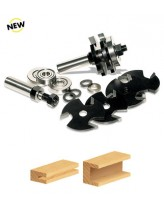 TRS-310 Multi 3-Wing Slot Cutter Set