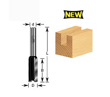 "1/4"" Shank Straight Plunge Router Bits"