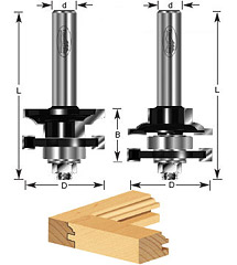 Stile & Rail Router Bit Sets