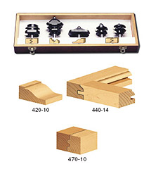 5-Piece Moulding Router Bit Set
