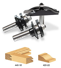 Door Making Router Bit Sets
