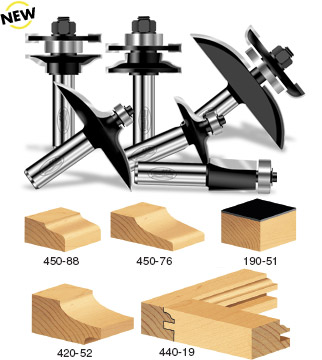 6-Piece Cabinet Door Making Set  sc 1 st  Timberline : cabinet door router bit - Cheerinfomania.Com