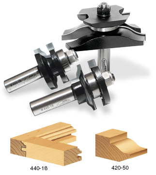Timberline Cabinet Door Making Router Bit Sets